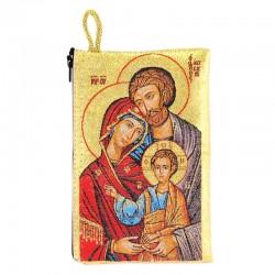 Borsellino Sacra Famiglia 10x15 cm