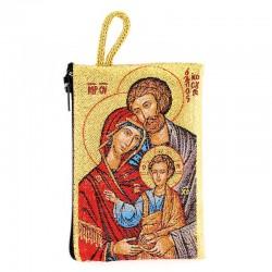 Borsellino Sacra Famiglia 7x10 cm