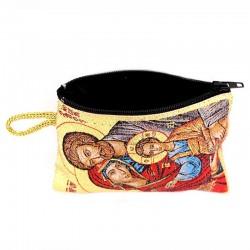 Holy Family Purse 7x10 cm