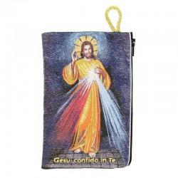 Borsellino Gesù Misericordioso 10x15 cm