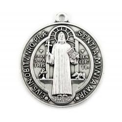 Medaglia San Benedetto in metallo Diametro 5 cm