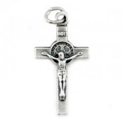 Croce San Benedetto in metallo 1,2x2 cm