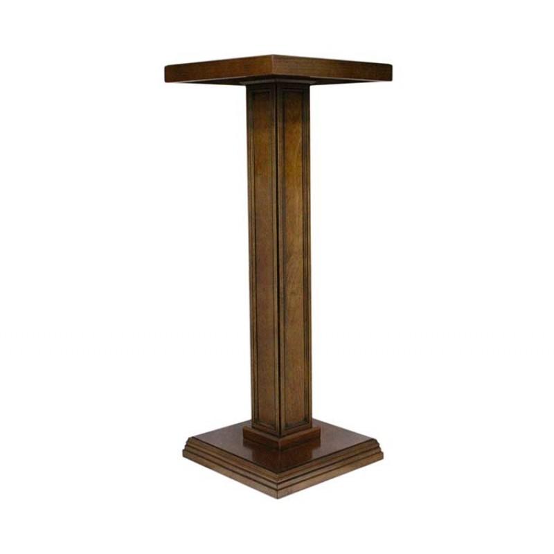 Colonna per statue in legno 105 cm