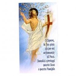 Family Blessing Card Resurrection gold