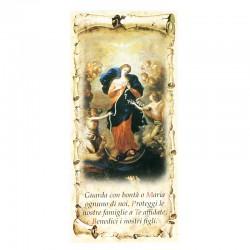 Benedizione della Famiglia Madonna dei Nodi 10x22 cm