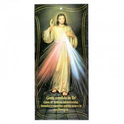 Benedizione della Famiglia Gesù, confido in Te! oro 10x22 cm