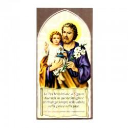 Benedizione della Famiglia San giuseppe 10x20 cm