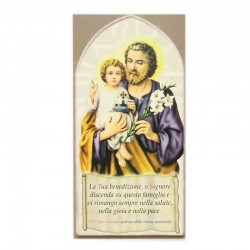 Family Blessing Saint Joseph 8x17 cm