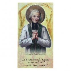 Family Blessing St. John Vianney 22x12 cm