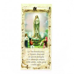 Family Blessing Our Lady of Fatima 10x22 cm