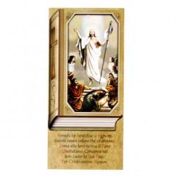 Benedizione Famiglia Gesù Risorto 8x17 cm