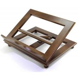 Leggio da tavolo in legno mogano 35x28 cm