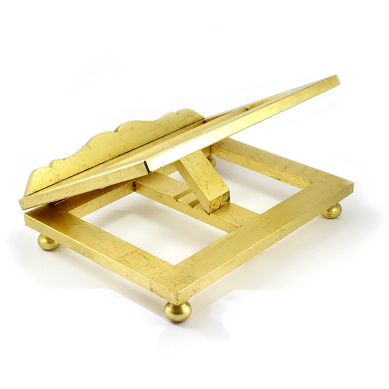 Leggio da tavolo in legno dorato 40x30x12 5 cm - Costruire un leggio da tavolo ...