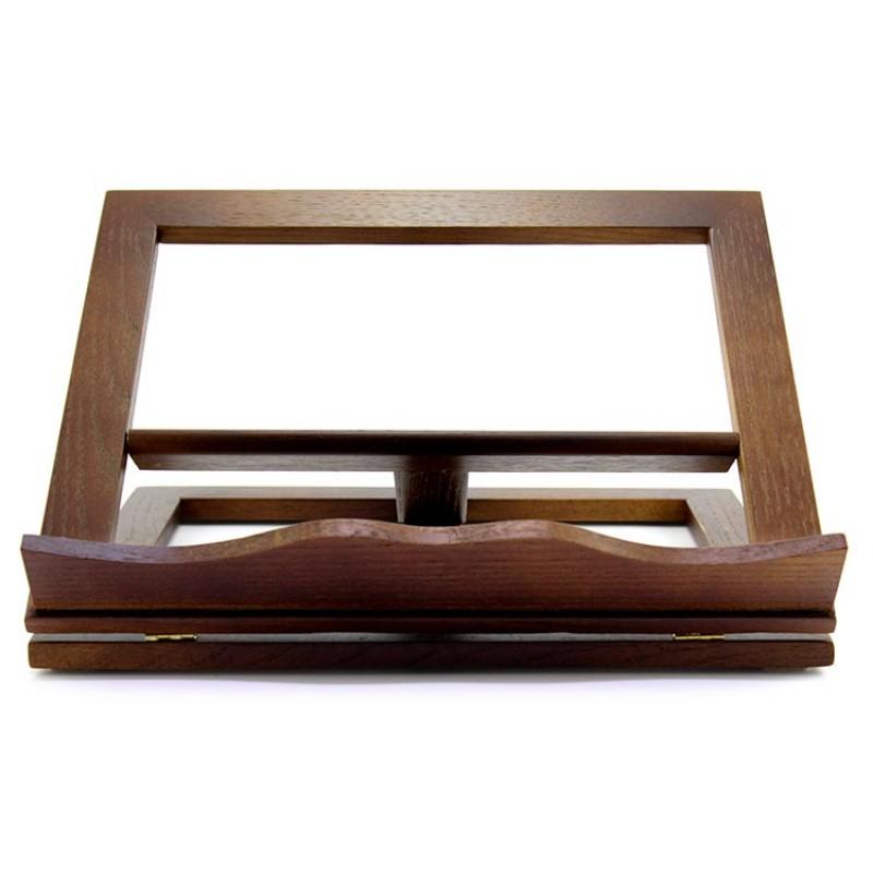 Leggio da tavolo in legno noce 33x27 cm - Costruire un leggio da tavolo ...
