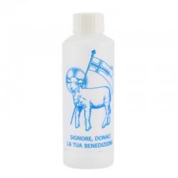 Bottiglietta acqua Santa con agnello 100 ml Conf 500 pz