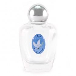 Glass Bottle for Holy Oil Silver Stopper 6x3.5 cm