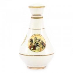 Bottiglia Natività in ceramica per essenze 8,5 cm