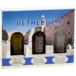 Bethlehem Package Water Holy Water and Earth