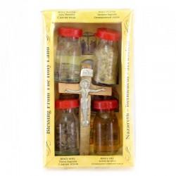 Bethlehem Package Water Incense Cross Holy Earth Oil