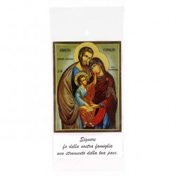 Olive branch envelope Holy Family 500 pieces 11x23 cm