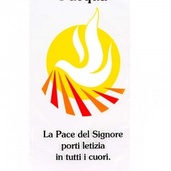 Envelope Palm Sunday Dove Peace 500 items 11x24 cm