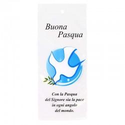 Bustina Domenica delle Palme Colomba con ulivo 11x24 cm 500 Pz