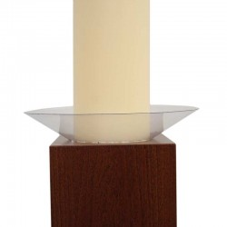 Plastic anti-dripping for Paschal Candles Diameter 8 cm