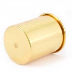 Golden Brass Candle Support Diameter 8 cm
