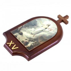 Way of the Cross dome in mdf 20x30 cm 15 stations