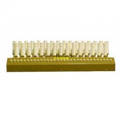 Candelabro Votivo elettrico metallo da appoggio 31 candele