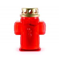 Lampada elettronica Croce rossa 11 cm