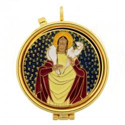 Teca eucaristica Buon Pastore Diametro 5,4 cm