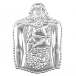 Metal Ex Voto Stomach 12x17 cm