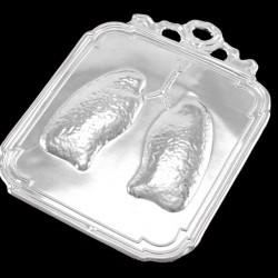 Metal Ex Voto Lungs 9x12 cm