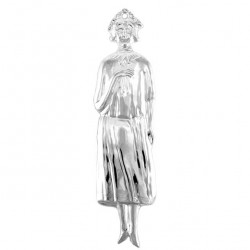 Metal Ex Voto Standing Woman 5x20 cm