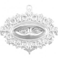 Metal Ex Voto openwork Eyes 14x8 cm