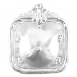 Metal Ex Voto Breast 8x10 cm