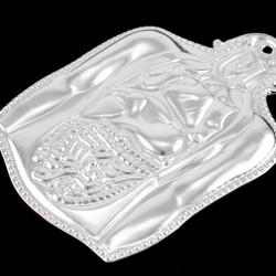 Ex Voto Stomach Silver 925°° 12x17 cm