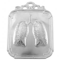 Ex Voto Lungs Silver 925°° 12x17 cm