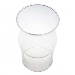 Glass Flame Protector for church candle diameter 8.2 cm