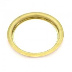 Ghiera in metallo dorato foro Diametro 6 cm