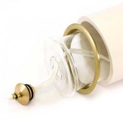 Liquid Wax Cartridge Holder for Plastic Candles diameter 6 cm