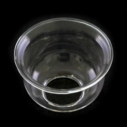 Glass Flame Protector for cartridge Diameter 3 cm