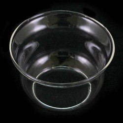 Glass Flame Protector for cartridge Diameter 4 cm