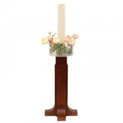 Plexiglass Flower vase for Easter candle Diameter 25 cm