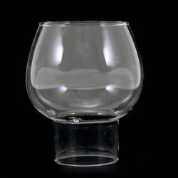 Spare glass flame protector Diameter 5 cm