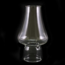 Glass flame guard for plastic candle Diameter 3,2 cm