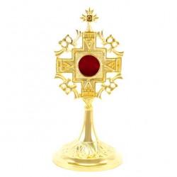 Golden Brass Reliquary 21 cm