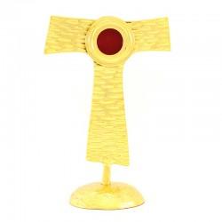 Golden metal Tau Reliquary 22 cm