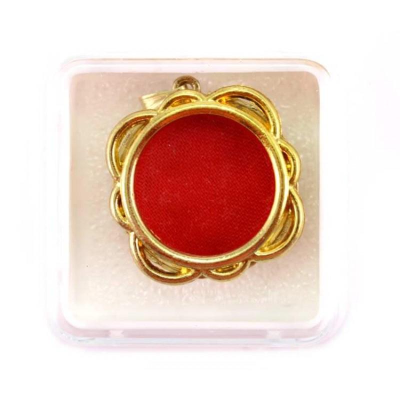 6a9234f1ecce Golden Metal Reliquary Flower 3 cm